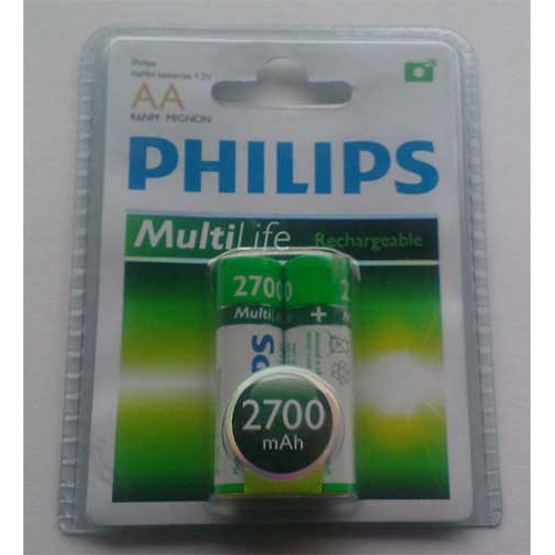 Купить Акк. Philips AA 2700mAh 2pack