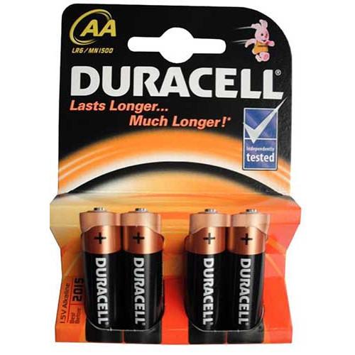 Купить батарейка Duracell LR06 4pcs