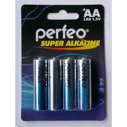 Купить Батарейка Perfeo LR06 4pcs