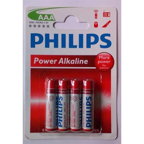 Купить Батарейка Philips PowerLife LR03-P4B