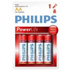 Батарейка Philips PowerLife LR06-P4B