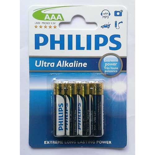 Купить Батарейка Philips Ultra Alkaline LR03 4bl