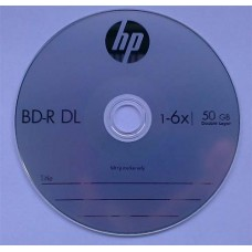 BD-R DL HP 50GB Cake10 6x
