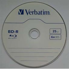BD-R Verbatim 25Gb Cake10 6x #43742