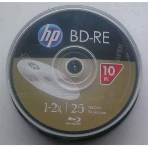 Купить BD-RE HP 2X 25GB Cake10