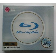 BD-RE LG 2X 25GB Jewel Box 1-2x