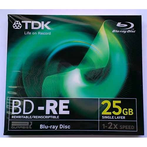 Купить BD-RE TDK 2X 25GB Jewel Box
