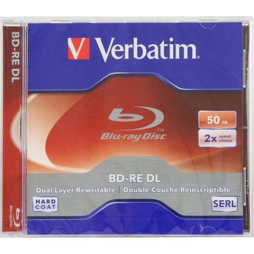 Купить BD-RE Verbatim 50GB 2x Jewel box