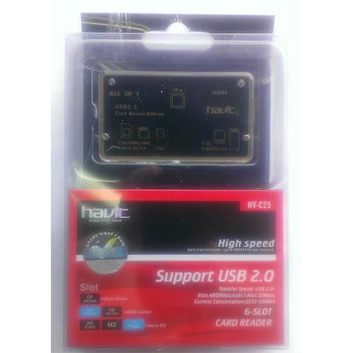 Купить Card Reader Havit HV-C25 мульти