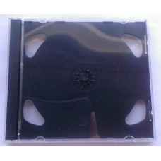 CD  box  2cd Jewel Black