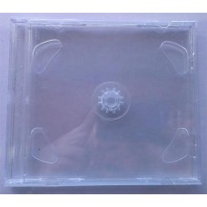 CD  box  2cd Jewel Clear