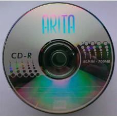 CD-R Arita 700Mb Bulk50 52x Silver Top