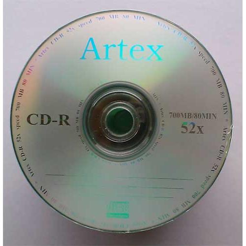 Купить CD-R Artex 700Mb Bulk50 52x