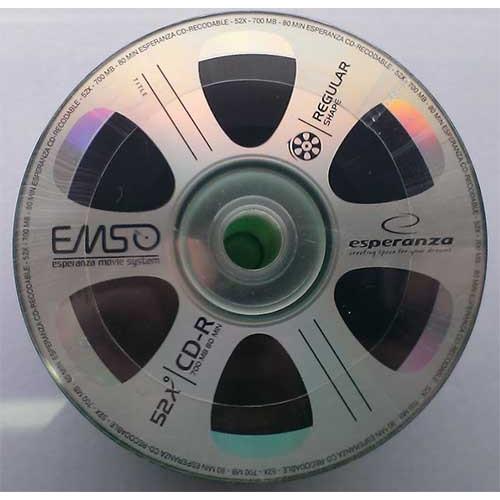 Купить CD-R Esperanza 700Mb Bulk50 56x Movie
