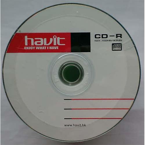 Купить CD-R Havit 700Mb Bulk50 52x