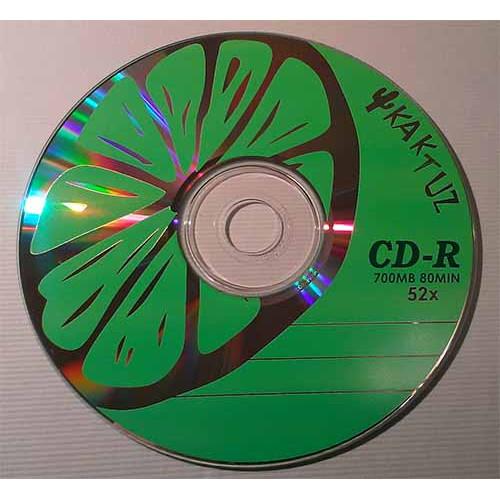 Купить CD-R Kaktuz 700Mb Bulk50 52x