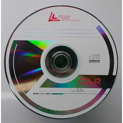 Купить CD-R L-Pro 700Mb Bulk100 52x