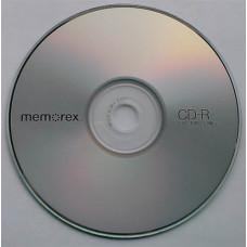 CD-R Memorex 700Mb Bulk100 52x