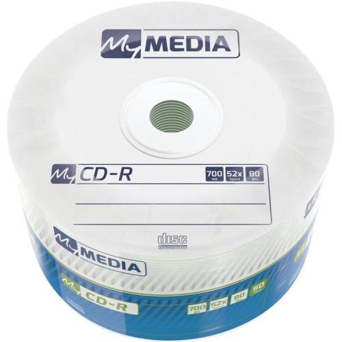 Купить CD-R MyMedia 700Mb Bulk50 52x