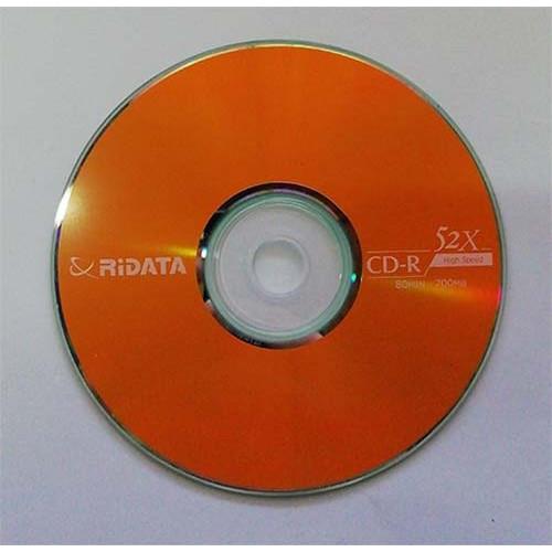 Купить CD-R Ridata 700Mb Bulk25 52x