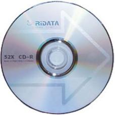 CD-R Ridata 700Mb Bulk50 52x стрелка