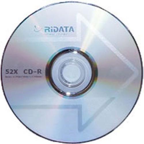 Купить CD-R Ridata 700Mb Bulk50 52x стрелка