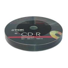 CD-R TDK 700Mb Bulk 10pcs 52x