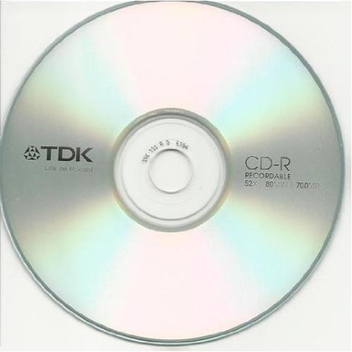 Купить CD-R TDK 700Mb Bulk25 52x