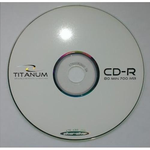 Купить CD-R Titanum 700Mb Bulk100 52x
