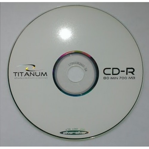 Купить CD-R Titanum 700Mb Bulk50 52x