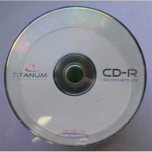 Купить CD-R Titanum 870Mb Bulk100 52x