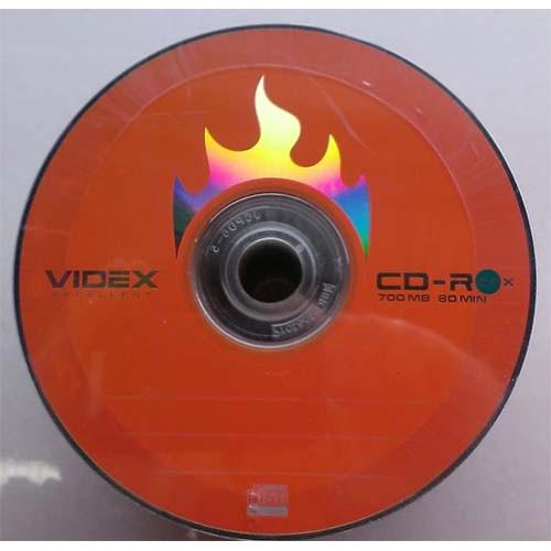 Купить CD-R Videx 700Mb Bulk100 52x