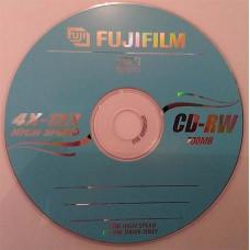 CD-RW Fujifilm 700MB 12x