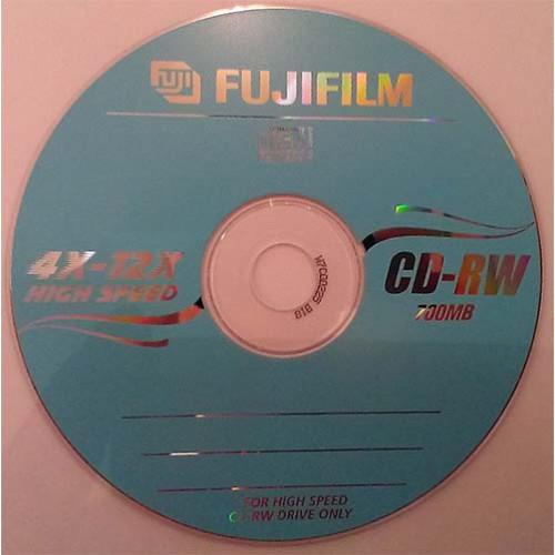 Купить CD-RW Fujifilm 700MB 12x