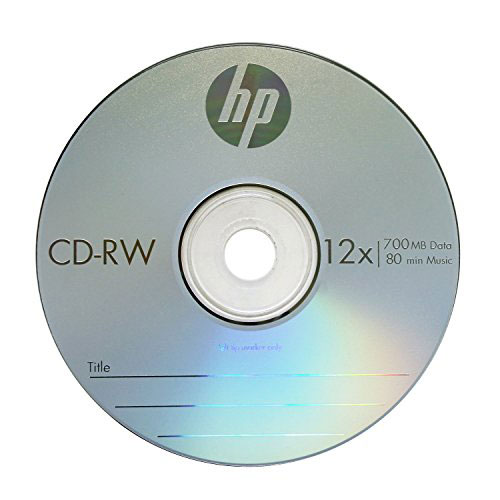Купить CD-RW HP 700Mb Cake25 4-12x