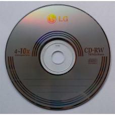 CD-RW LG 700Mb Bulk50 4-10x