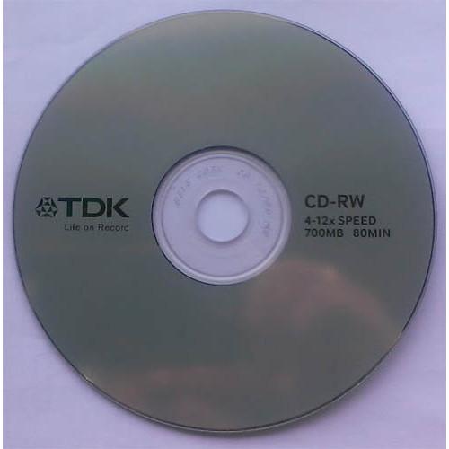 Купить CD-RW TDK 700MB Cake10 12x