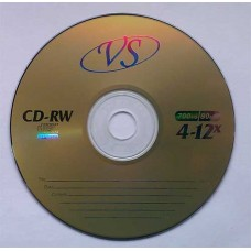 CD-RW VS 700Mb Bulk50 12x