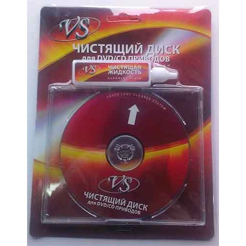 Купить Чистящий диск VS влажный CD/DVD