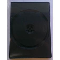 DVD  box  1dvd Black 14мм матовая пленка