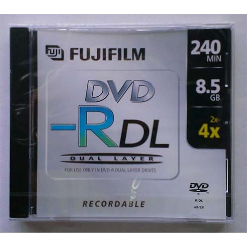 Купить DVD-R 8.5GB DL Fujifilm Jewel Box 4x