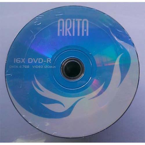 Купить DVD-R Arita 4.7GB Bulk100 16x Blue top
