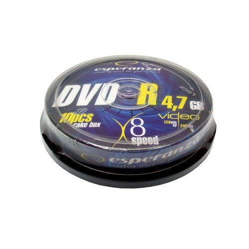 Купить DVD-R Esperanza 4.7GB Cake10 8x