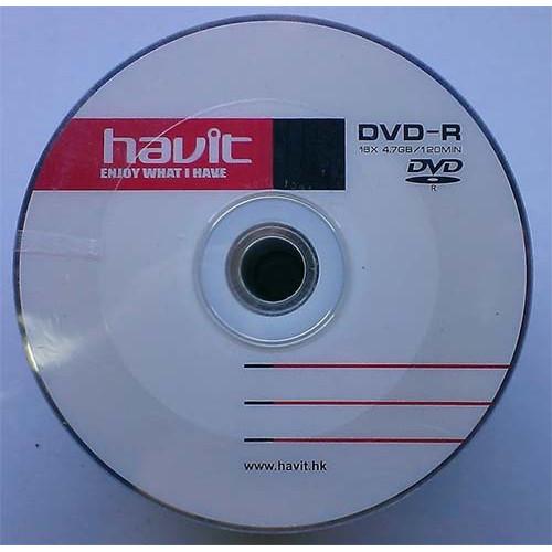 Купить DVD-R Havit 4.7GB Bulk50 16x