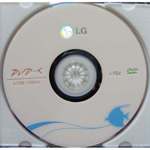 Купить DVD-R LG 4.7GB Bulk50 16x