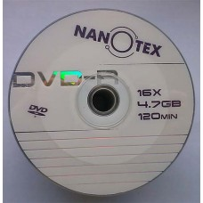 DVD-R Nanotex 4.7GB Bulk50 16x