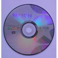 DVD-R Patron 4.7GB Bulk100 16x