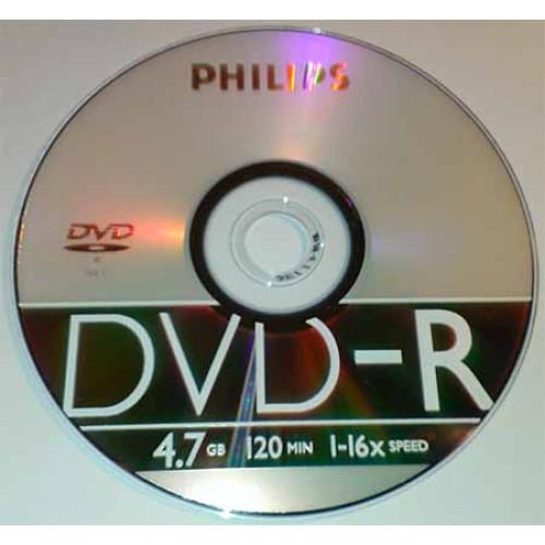 Купить DVD-R Philips 4.7GB Bulk50 16x