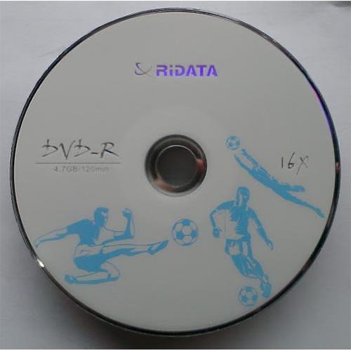 Купить DVD-R Ridata 4.7GB Bulk10 16x Футбол