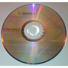 DVD-R Ridata 4.7GB Bulk50 16x стрелка